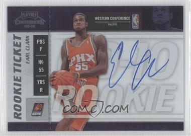 2009-10 Playoff Contenders #112 - Rookie Ticket - Earl Clark