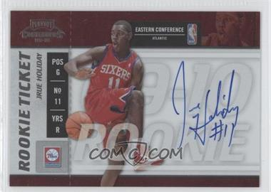 2009-10 Playoff Contenders #115 - Jrue Holiday