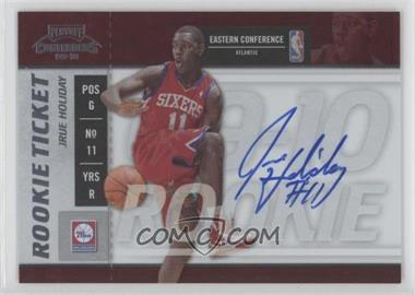2009-10 Playoff Contenders #115 - Rookie Ticket - Jrue Holiday