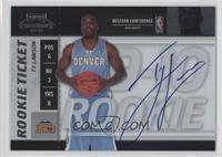 Rookie Ticket - Ty Lawson
