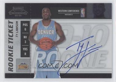 2009-10 Playoff Contenders #116 - Ty Lawson