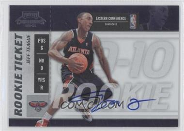 2009-10 Playoff Contenders #117 - Jeff Teague