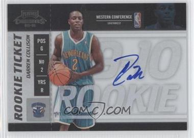 2009-10 Playoff Contenders #119 - Rookie Ticket - Darren Collison