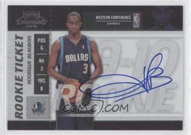 2009-10 Playoff Contenders #122 - Rodrigue Beaubois