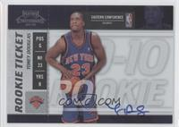 Rookie Ticket - Toney Douglas