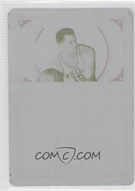 2009-10 Playoff National Treasures 2012-13 National Treasures Printing Plate Yellow #180 - Tom Gola /1
