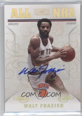 2009-10 Playoff National Treasures All NBA Signatures [Autographed] #18 - Walt Frazier /25