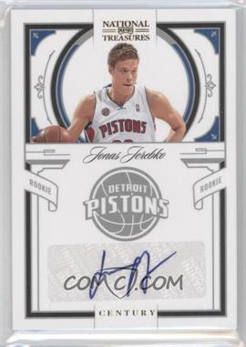 2009-10 Playoff National Treasures Century Signatures [Autographed] #186 - Jonas Jerebko /99