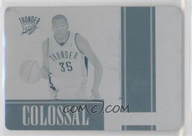 2009-10 Playoff National Treasures Colossal 2012-13 National Treasures Printing Plate Cyan #3 - Kevin Durant /1
