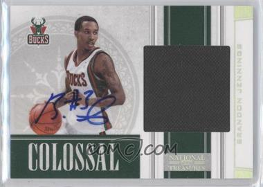 2009-10 Playoff National Treasures Colossal Signatures [Autographed] #14 - Brandon Jennings /49