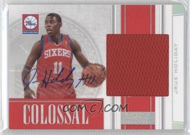 2009-10 Playoff National Treasures Colossal Signatures [Autographed] #32 - Jrue Holiday /49