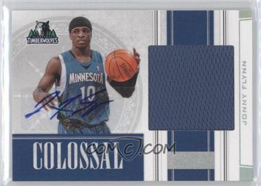 2009-10 Playoff National Treasures Colossal Signatures #8 - Jonny Flynn /49