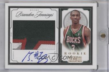 2009-10 Playoff National Treasures Gold Century #209 - Brandon Jennings /5