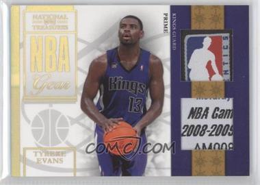 2009-10 Playoff National Treasures NBA Gear Combos Laundry Tags #7 - Tyreke Evans /5