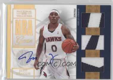 2009-10 Playoff National Treasures NBA Gear Trios Prime Signatures #24 - Jeff Teague /49