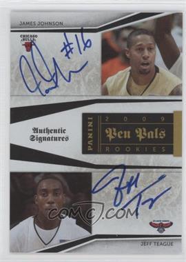 2009-10 Playoff National Treasures Pen Pals [Autographed] #JT - James Jones, Jeff Teague /50