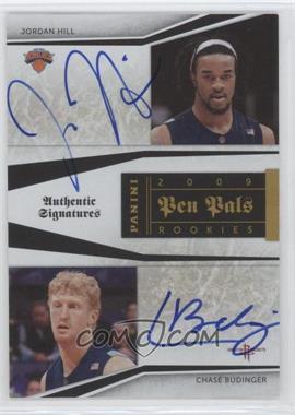 2009-10 Playoff National Treasures Pen Pals #JH-CB - Jordan Hill, Chase Budinger /50