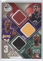 Lebron James, Kobe Bryant, Kevin Garnett /125