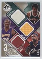 Oscar Robertson, Kobe Bryant, Lebron James /125