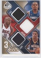 Randy Foye, Keith Bogans, Brandon Rush /35