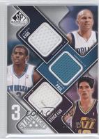 Jason Kidd, Chris Paul, John Stockton /299