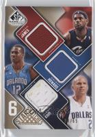 Lebron James, Dwight Howard, Jason Kidd, Dwyane Wade, Chris Bosh, Ray Allen /65