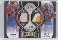 Allen Iverson, Kevin Durant /99