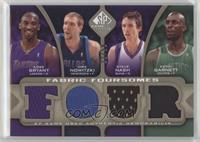 Kobe Bryant, Dirk Nowitzki, Steve Nash, Kevin Garnett /50