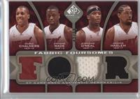 Mario Chalmers, Dwyane Wade, Jermaine O'Neal, Udonis Haslem /50