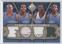 Russell Westbrook, Kevin Durant, Desmond Mason, Jeff Green /35