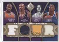 Shaquille O'Neal, Karl Malone, Patrick Ewing, Jerry West /35