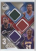 Kevin Durant, Lebron James, Kobe Bryant /125