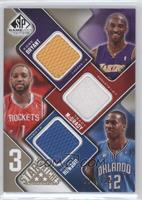 Kobe Bryant, Tracy McGrady, Dwight Howard /125