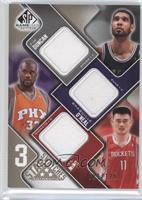 Tim Duncan, Shaquille O'Neal, Yao Ming /125