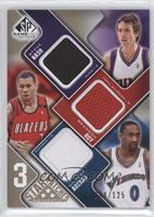 Steve Nash, Brandon Roy, Gilbert Arenas /125