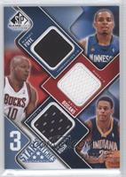 Randy Foye, Keith Bogans, Brandon Rush /50