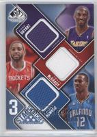 Kobe Bryant, Tracy McGrady, Dwight Howard /50