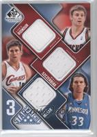 Luke Ridnour, Wally Szczerbiak /50