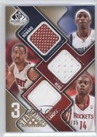 Josh Howard, Luther Head, Carl Landry /35