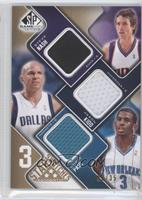 Steve Nash, Jason Kidd, Chris Paul /35