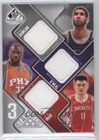 Tim Duncan, Shaquille O'Neal, Yao Ming /299