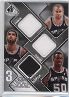 Tony Parker, Tim Duncan, David Robinson /299