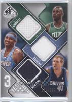 Kevin Garnett, Carmelo Anthony, Dirk Nowitzki /299