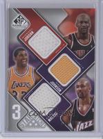 Michael Jordan, Magic Johnson, Karl Malone /299