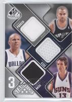Tony Parker, Jason Kidd, Steve Nash /299