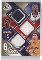 O.J. Mayo, Adam Morrison, Deron Williams, Ben Gordon, Carmelo Anthony /65