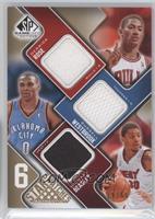 Derrick Rose, Russell Westbrook, Michael Beasley, Kevin Durant /65