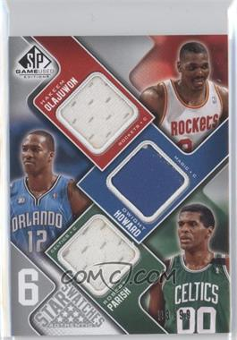 2009-10 SP Game Used 6 Star Swatches #6S-6 - [Missing] /99