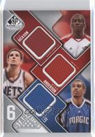 J.J. Hickson, Courtney Lee, Kosta Koufos, George Hill /99