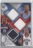 Kevin Durant, Jeff Green, Corey Brewer, Brandan Wright /99